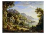 At the Gulf of Salerno  1826