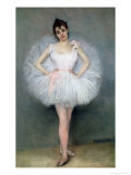 Portrait of a Young Ballerina