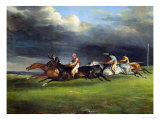 The Epsom Derby  1821
