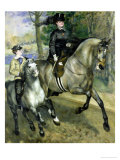 Horsewoman in the Bois de Boulogne  1873