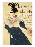 "Reproduction of a Poster Advertising ""La Revue Blanche""  1895"