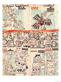 Detail from a Mayan Codex