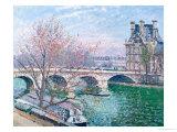 The Pont-Royal and the Pavillon de Flore  1903