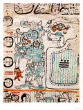 Detail from a Mayan Codex