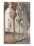 The Ducal Palace  Renaissance Capitals of the Loggia  1851