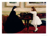 At the Piano  1858-59