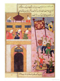 Tamerlane Besieging Urganj  from the Zafarnama of Shaval Ad-Din