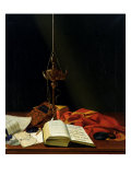 Still Life with a Bible  1821