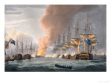 Destruction of the Danish Fleet Before Copenhagen  2nd April 1801