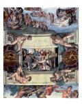 Sistine Chapel Ceiling : the Sacrifice of Noah  1508-10