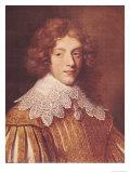 Portrait of Henri Coeffier de Ruze D'Effiat Marquis of Cinq-Mars