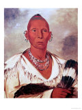 Portrait of Black Hawk  Indian Chief