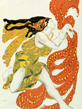 Costume Design for a Bacchante in &quot;Narcisse&quot; by Tcherepnin  1911
