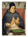 Portrait of St Thomas Aquinas circa 1475