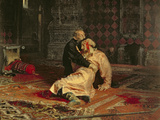 Ivan the Terrible and His Son on the 16th November  1581  1885