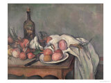 Still Life with Onions  circa 1895