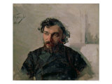 Portrait of Ivan Pochitonov  1882