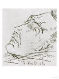 Portrait of Vincent Van Gogh on His Deathbed  29 July 1890