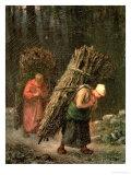 Peasant Women with Brushwood  circa 1858