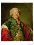 Portrait of Prince Alexander Borisovich Kurakin  1797