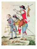 Je Savais Bien Que Nous Aurions Notre Tour  Caricature Depicting the Three Orders  1789