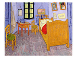 Van Gogh's Bedroom at Arles  1889 (Oil on Canvas)