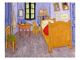 La chambre de Van Gogh à Arles, 1889 Giclée par Vincent Van Gogh