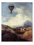 The Balloon Or  the Ascent of the Montgolfier