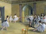 Le Foyer de la danse à l'opéra, 1872 Giclée par Edgar Degas