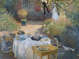 The Luncheon: Monet's Garden at Argenteuil  circa 1873