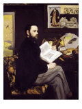 Portrait of Emile Zola 1868