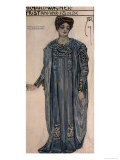 Copy of a Costume Design for Isolde