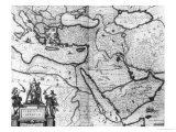"""Map of the Ottoman Empire  from the """"Atlas Novus"""""""