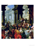 Feast Under an Ionic Portico  circa 1720-25