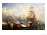 The Redoutable at Trafalgar  21st October 1805