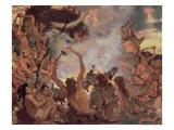 A Stone Age Feast  1883