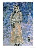 The Snow Maiden  a Sketch for the Opera by Nikolai Rimsky-Korsakov  1890s