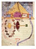 "Water Pump  from ""Treaty on Mechanical Procedures"" by Al-Djazari  1206"