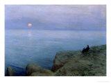 Alexander Pushkin at the Seashore  1896