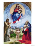 The Foligno Madonna  circa 1511-12