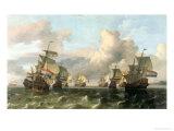 The Dutch Fleet of the India Company  1675