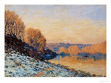 Port-Marly  White Frost  1872