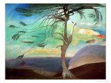 The Solitary Cedar  1907