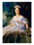 Portrait of Princess Tatiana Alexanrovna Yusupova  1858