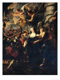 The Medici Cycle: Marie de Medici Escaping from Blois  21st-22nd February 1619  1621-25