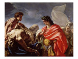 Achilles Contemplating the Body of Patroclus