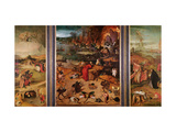 Triptych of the Temptation of St Anthony