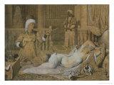 Odalisque with a Slave  1858