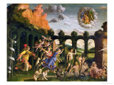 Minerva Chasing the Vices from the Garden of Virtue