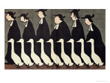 "The Geese  Anti-Clerical Caricature from ""L'Assiette au Beurre""  17th May 1902"